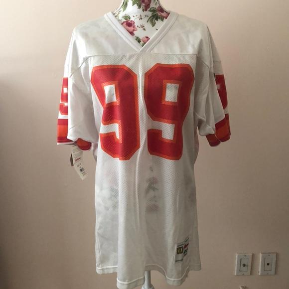 tampa bay buccaneers NFL Shirts | Vintage Warren Sapp Tampa Bay